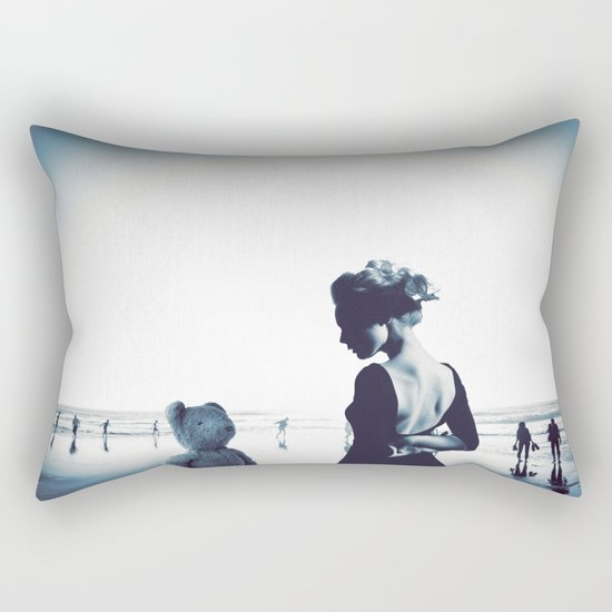 Teddy in love Rectangular Pillow