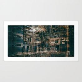 City-zen 3 Art Print