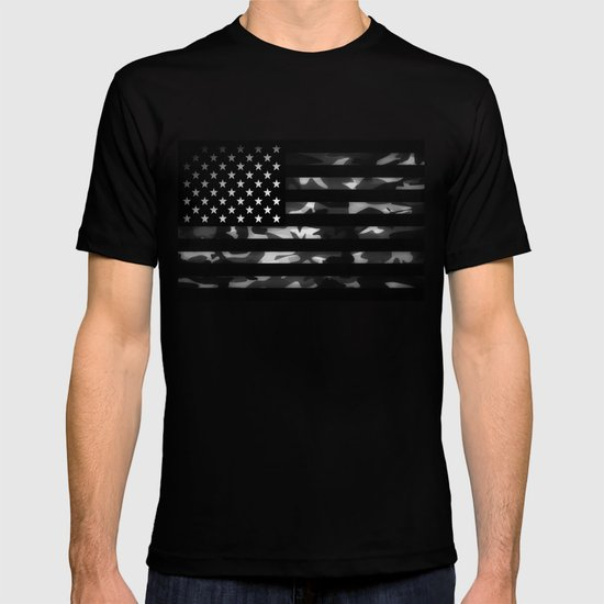 American camouflage T-shirt
