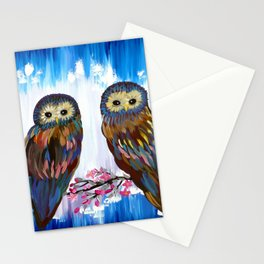 Looking in the Same Direction Stationery Cards