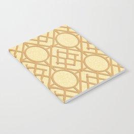 Wooden Trellis Notebook