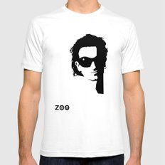 Bono SMALL White Mens Fitted Tee
