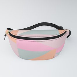 Sweet Candy Pastel Shapes Fanny Pack