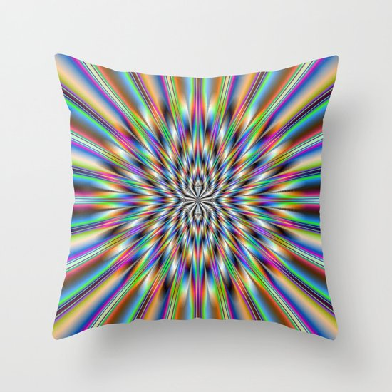 The Big Bang Throw Pillow