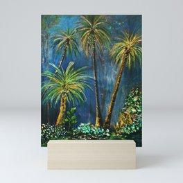 Paradise Palms Mini Art Print