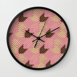 Clover&Nessie Macaron/Wine Wall Clock
