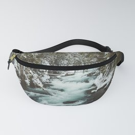The Wild McKenzie River Portrait - Nature Photography Fanny Pack