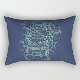 Chateau Ambulant Rectangular Pillow