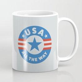 USA ALL THE WAY Coffee Mug