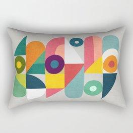 Tick Tock Machine Rectangular Pillow