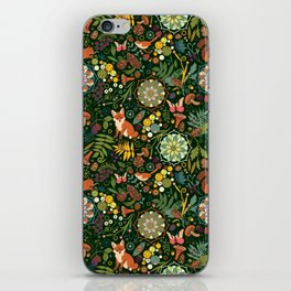 Treasures of the emerald woods iPhone Skin