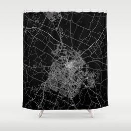 Lexington map Kentucky Shower Curtain
