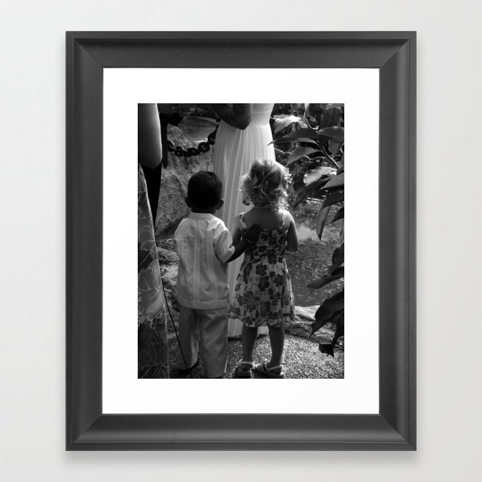 The Page Boy Framed Art Print