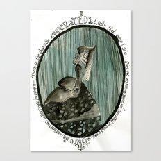 Cameo Canvas Print