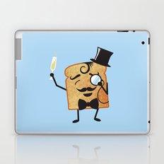 Sir Toast Makes a Toast Laptop & iPad Skin