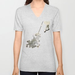 Picking Up the Pieces Unisex V-Neck