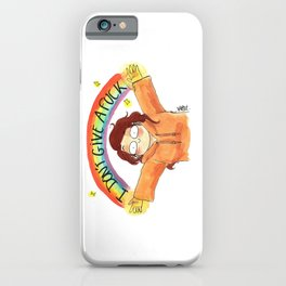 I don't give a f*ck iPhone Case