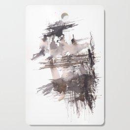 Bondage- 151124  Abstract Watercolour Cutting Board