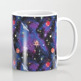 Out of This World Carpet Pattern Coffee Mug