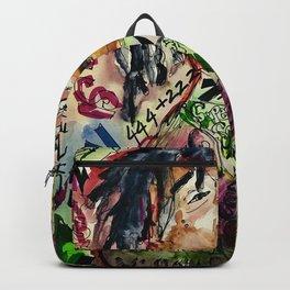 colorful hiphop,poster,lil,rap,artist,music,lyrics,colourful,poster,cool,dope,print,uzi Backpack