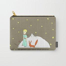 """""""The Little Prince"""" (""""Le Petit Prince"""") by Antoine de Saint-Exupéry  Carry-All Pouch"""