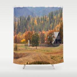 Fall beauty in Hayfork, California..... Shower Curtain