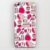 meat iPhone & iPod Skins featuring Meat by Rot Rabbit
