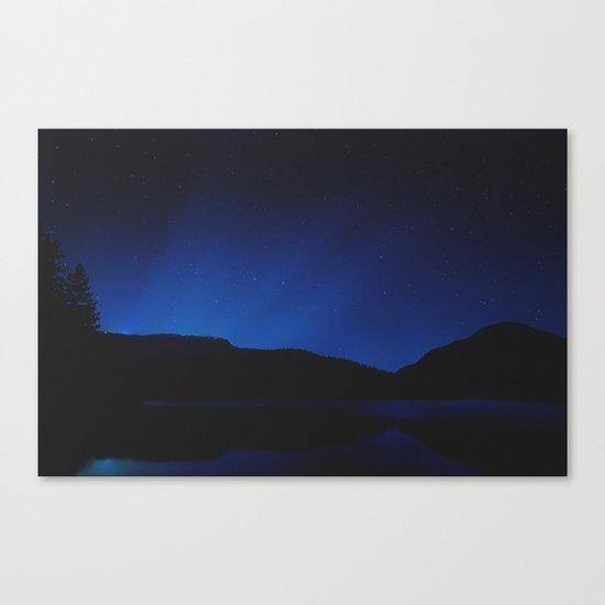 Glow in the Dark Canvas Print