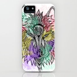 The Lone Wolf iPhone Case
