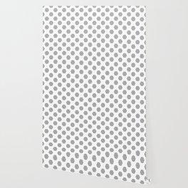 BW flower pattern 2 Wallpaper