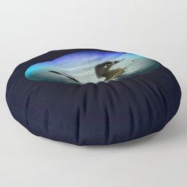 Duck Egg Floor Pillow