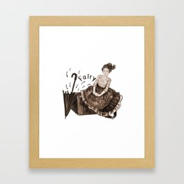 Fairy for Your Wishes Framed Art Print