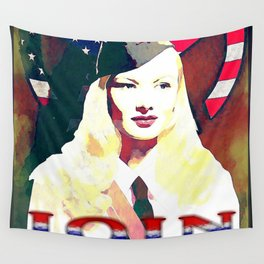 VERONICA LAKE - 065 Wall Tapestry