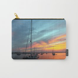 blue.and.orange Carry-All Pouch