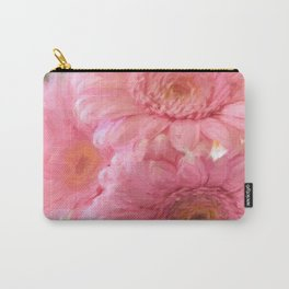 To Be Yourself - Flower Art Carry-All Pouch