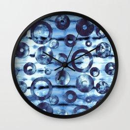 Tie-Dye Ringer Wall Clock