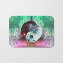Ying-Yang Galaxy Bath Mat