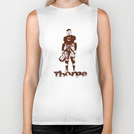 Jim Thorpe - Native American Legend Biker Tank