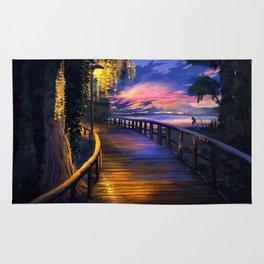 Seaside Sunset Rug