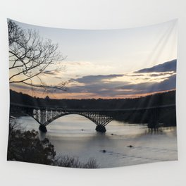 Boat House Row, Schuylkill River, PA Wall Tapestry