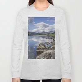 Lake Mymbyr and Snowdon Long Sleeve T-shirt