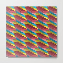 3D Pattern _01 Metal Print
