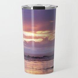Misty Sunset Travel Mug