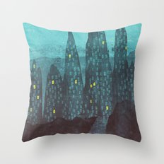 To The City Throw Pillow