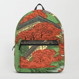Hiroshige Temple & Mountains Backpack