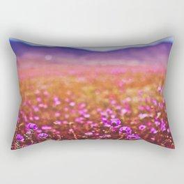 The Desert in Bloom (Flowering Desert, Copiapo, Chile) Rectangular Pillow