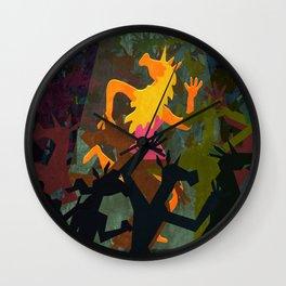 Unicorn Last Dance Wall Clock