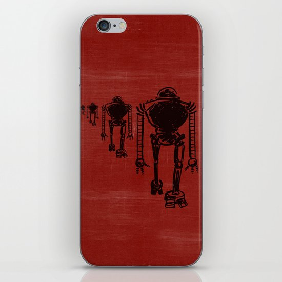 March Of The Robots iPhone & iPod Skin