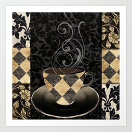 Cafe Noir II Art Print