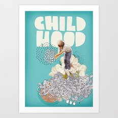 Childhood Art Print
